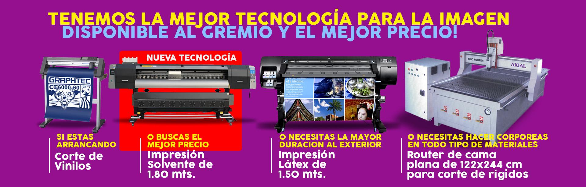 Nuestra tecnología